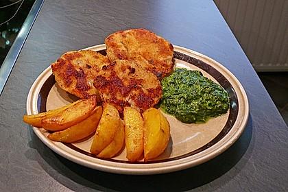 Kohlrabi in Parmesan-Kräuter-Panade 10