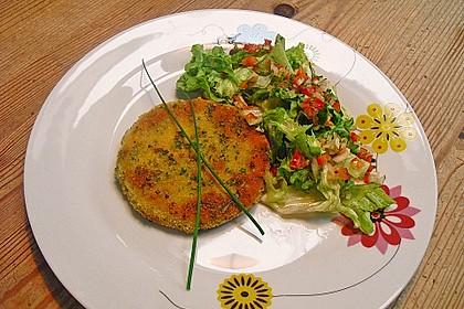 Kohlrabi in Parmesan-Kräuter-Panade 4