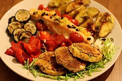 Kohlrabi in Parmesan-Kräuter-Panade 1