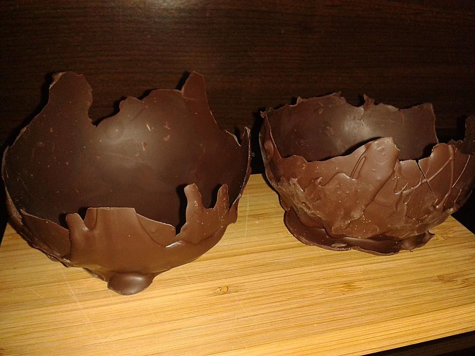 schokoladenschalen rezept mit bild von meimeikun. Black Bedroom Furniture Sets. Home Design Ideas