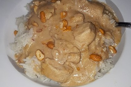 Geschnetzeltes in Erdnusssoße 2