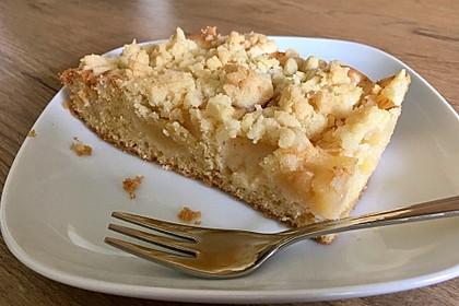 Apfelkuchen mit Streuseln 39