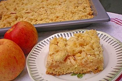 Apfelkuchen mit Streuseln 10