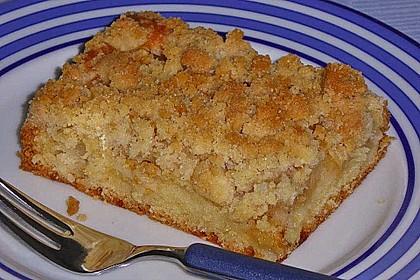 Apfelkuchen mit Streuseln 16
