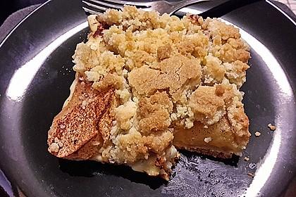 Apfelkuchen mit Streuseln 95