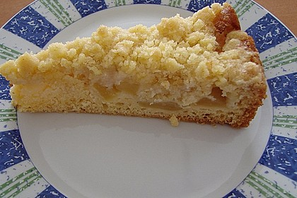 Apfelkuchen mit Streuseln 62