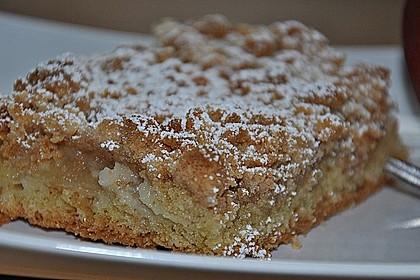 Apfelkuchen mit Streuseln 7