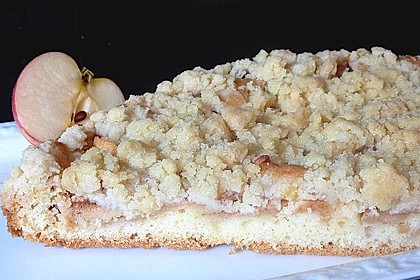 Apfelkuchen mit Streuseln 21