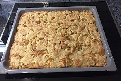 Apfelkuchen mit Streuseln 50
