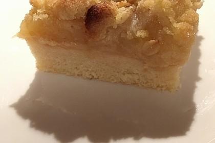 Apfelkuchen mit Streuseln 22