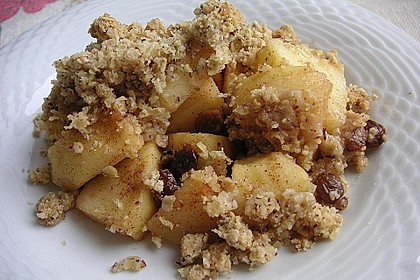 apple crumble rezept mit bild von caarjoil. Black Bedroom Furniture Sets. Home Design Ideas