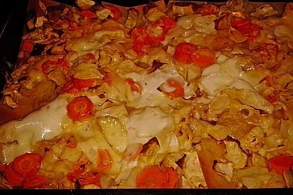 Weißkohl-Lasagne 1