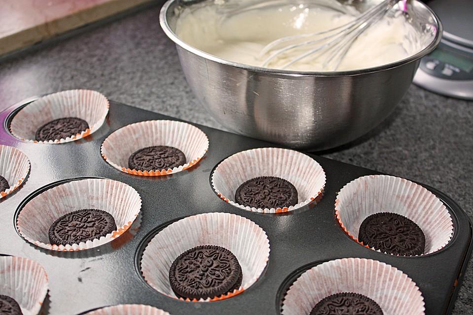 Oreo Chocolate Cheesecake Muffins (Rezept Mit Bild) | Chefkoch.De