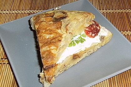 Tortilla rellena - gefüllte Tortilla