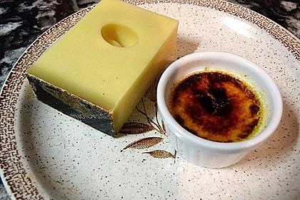 Crème brûlée mit Emmentaler