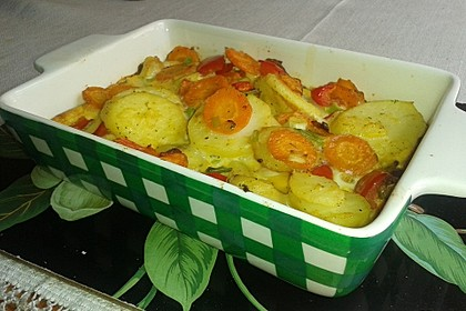 Kartoffel-Gemüsetortilla mit Kräuterquark 6