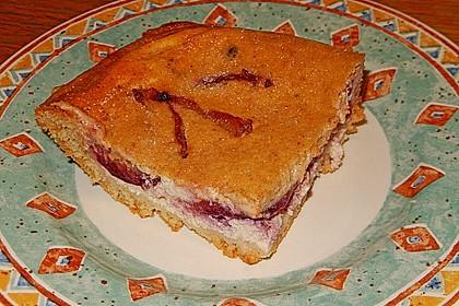 Fränkischer Schmelzeplootz - Quarkobstkuchen auf fränkische Art