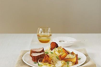 Miracel Whip Kartoffelsalat mit Schalotten und Schweinefilet
