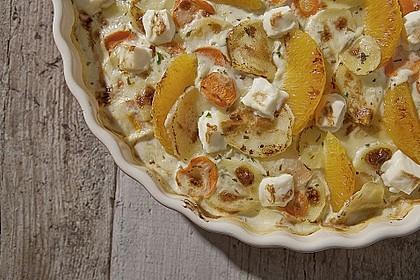 Miracel Whip Kartoffelsalat mit Rotkohl und Orange 0