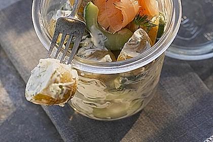 Schwedischer Miracel Whip Kartoffelsalat