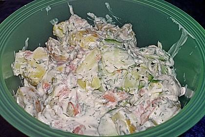 Schwedischer Miracel Whip Kartoffelsalat 1