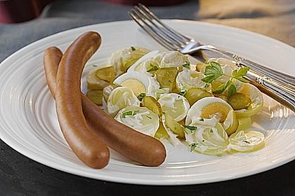 Miracel Whip Kartoffelsalat mit Deutschländer Würstchen 0