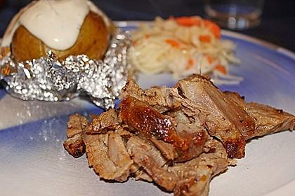 Pulled Pork, zarter Schweinebraten aus dem Ofen - fast original, nur ohne Grill 46