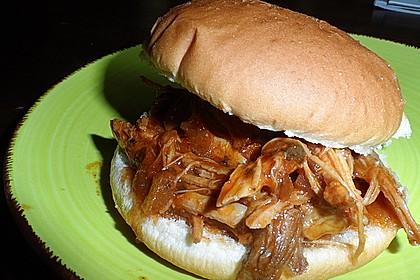 Pulled Pork, zarter Schweinebraten aus dem Ofen - fast original, nur ohne Grill 45