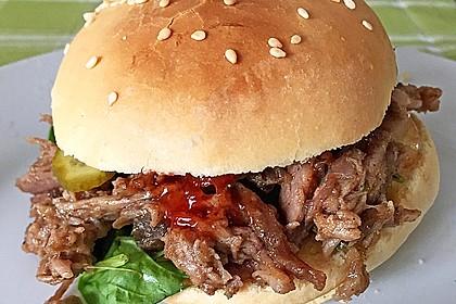 Pulled Pork, zarter Schweinebraten aus dem Ofen - fast original, nur ohne Grill 5
