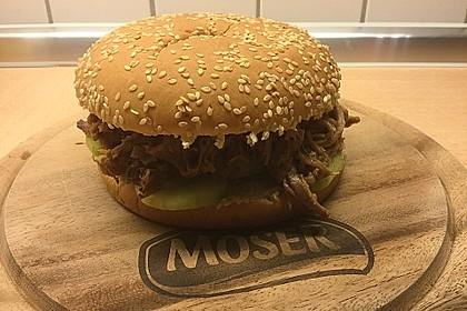 Pulled Pork, zarter Schweinebraten aus dem Ofen - fast original, nur ohne Grill 49
