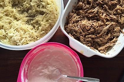 Pulled Pork, zarter Schweinebraten aus dem Ofen - fast original, nur ohne Grill 54