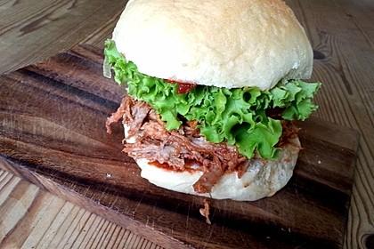 Pulled Pork, zarter Schweinebraten aus dem Ofen - fast original, nur ohne Grill 8