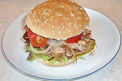 Pulled Pork, zarter Schweinebraten aus dem Ofen - fast original, nur ohne Grill 41
