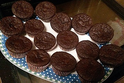 Schoko Muffins ohne Mehl (Low Carb) 5