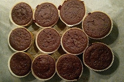 Schoko Muffins ohne Mehl (Low Carb) 7