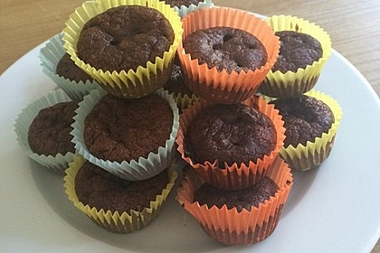 Schoko Muffins ohne Mehl (Low Carb) 6