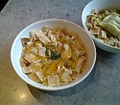 Grüne Pfannkuchensuppe