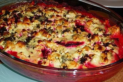 Rote Bete Lasagne mit Feta und Honig 7