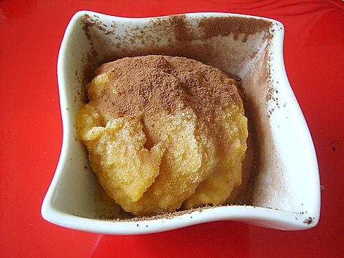 pfirsich kokos eis vegan rezept mit bild von lady cuisine. Black Bedroom Furniture Sets. Home Design Ideas