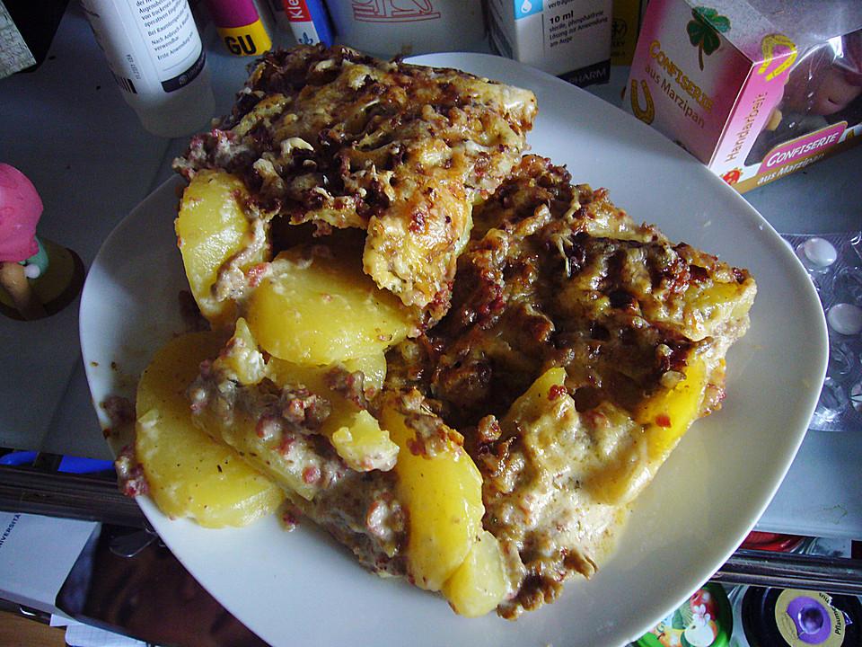 Rezept Kartoffel Hackfleisch kartoffel hack auflauf joe chip chefkoch de