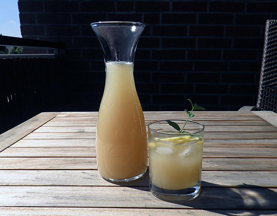 zitronen ingwer limonade rezept mit bild von kipo32. Black Bedroom Furniture Sets. Home Design Ideas