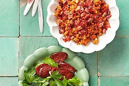Chorizo-Chips für das Tapas-Büfett 2