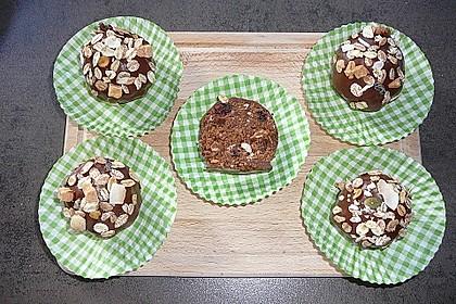 Schokoladige Müsli-Cake Pops