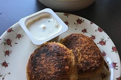 Couscous-Bratlinge mit Käse 55