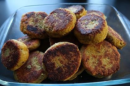 Couscous-Bratlinge mit Käse 3