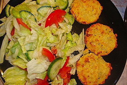 Couscous-Bratlinge mit Käse 27