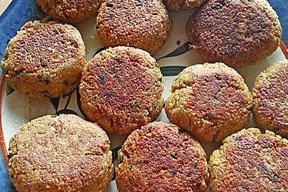 Couscous-Bratlinge mit Käse 58