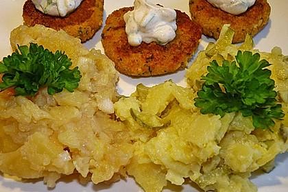 Couscous-Bratlinge mit Käse 44