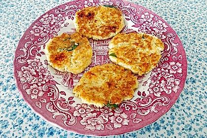 Couscous-Bratlinge mit Käse 57