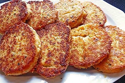 Couscous-Bratlinge mit Käse 22
